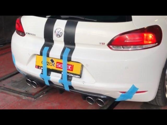 VW SCIROCCO 1.4 160 HP KUMANDALI VAREX EGZOZ SESİ