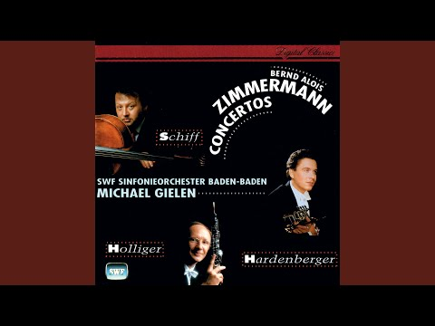 "Zimmermann: Trumpet Concerto ""Nobody Knows The Trouble I See"""