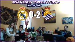 REAL MADRID VS REAL SOCIEDAD 0-2 REACCION | LA LIGA 06/01/2019