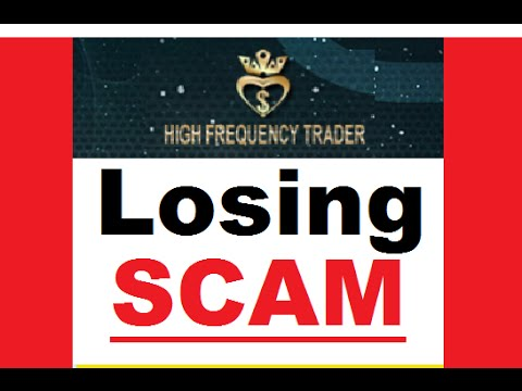 High Frequency Trader Review - Duplicated SCAM Software Exposed!