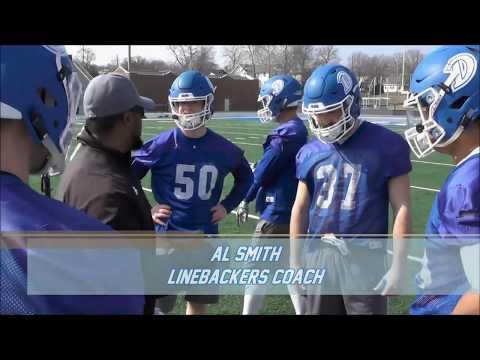 Drake Football Mic'd Up: LB Coach Al Smith