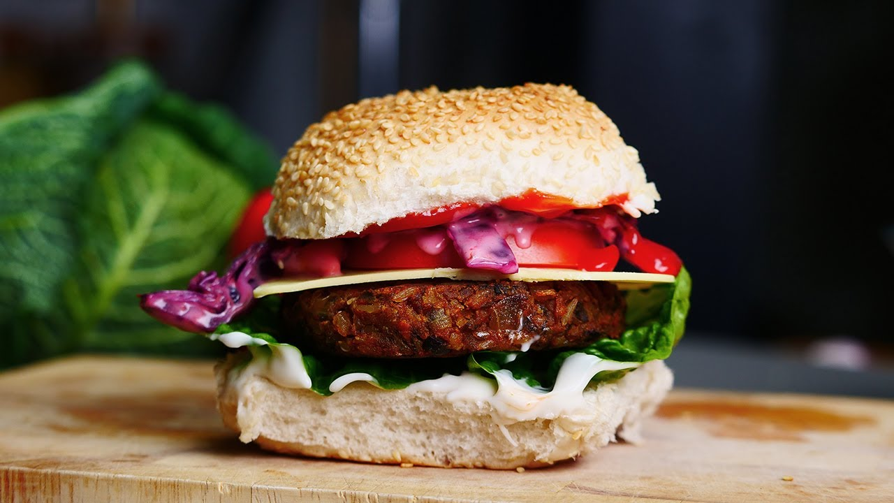 Healthy Vegan Burger Bosh