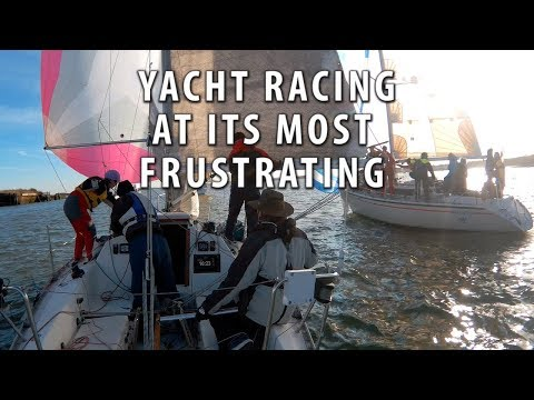 YACHT RACING AT ITS MOST FRUSTRATING