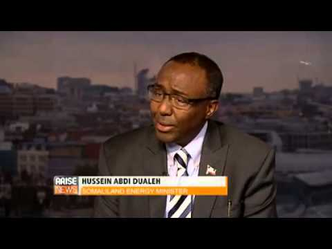 Somaliland Minister of Energy & Minerals interview on Arise Global Business Report