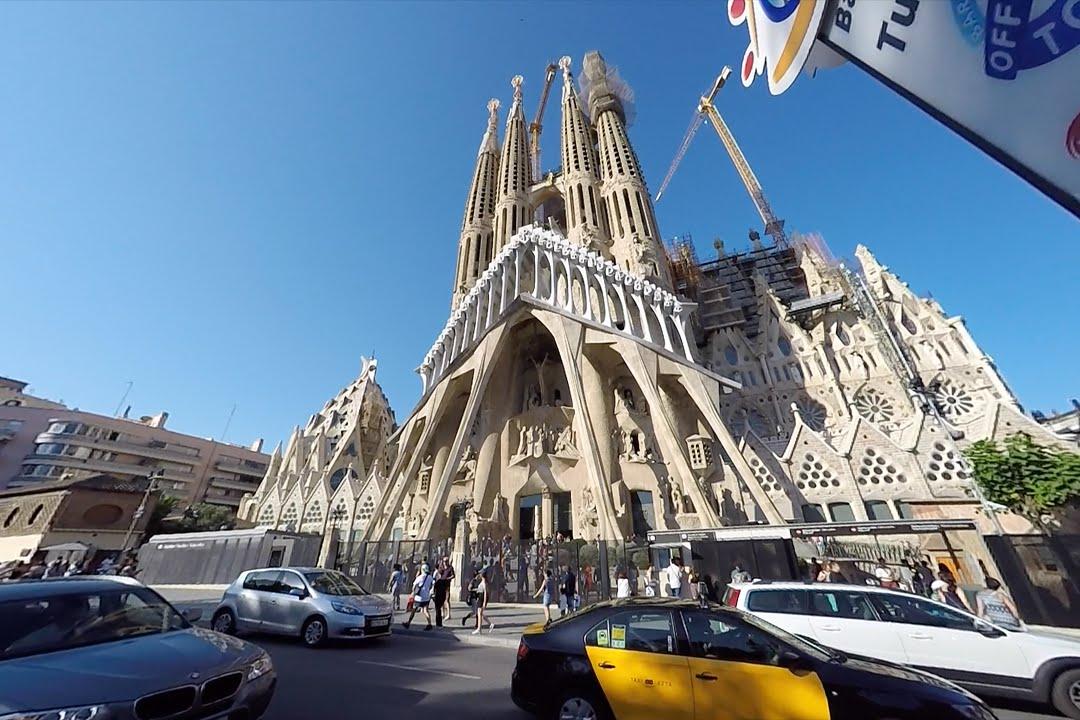 Bald Höchste Kirche Der Welt Besucht Sagrada Familia Barcelona