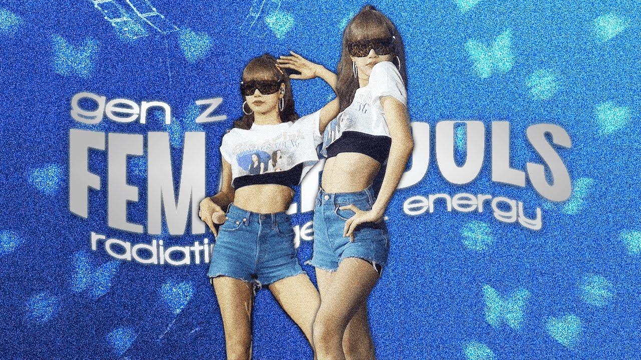 gen z female idols radiating gen z energy #2