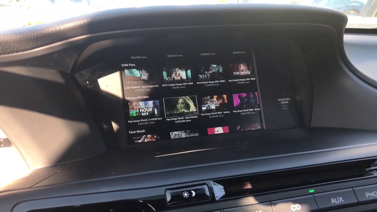 Honda Accord Le Tv In Dash Navtool Hdmi 2016 2017