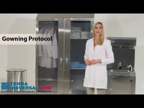 Cleanroom Gowning Procedures, Terra Universal