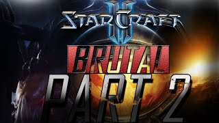 CZ Let's play | Starcraft 2 Wings of Liberty | Brutal | Part #2 |[1080p] [PC]