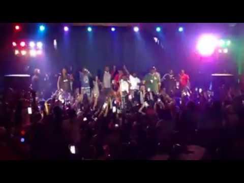 Fight at Lil Boosie Concert in Decatur Illinois