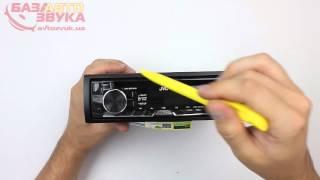 Автомагнитола JVC KD-R661EY Распаковка Обзор avtozvuk.ua