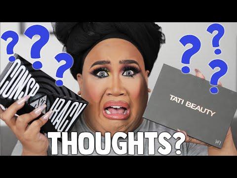 Shane Dawson Conspiracy Palette vs Tati Beauty Palette Review | PatrickStarrr thumbnail