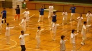 太極拳の練習風景  T