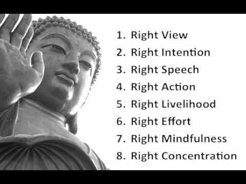 Buddhism Education - The Noble Eightfold Path - YouTube
