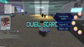 Lets duel 'GrandmasterHelios' yugioh roblox Ep:1