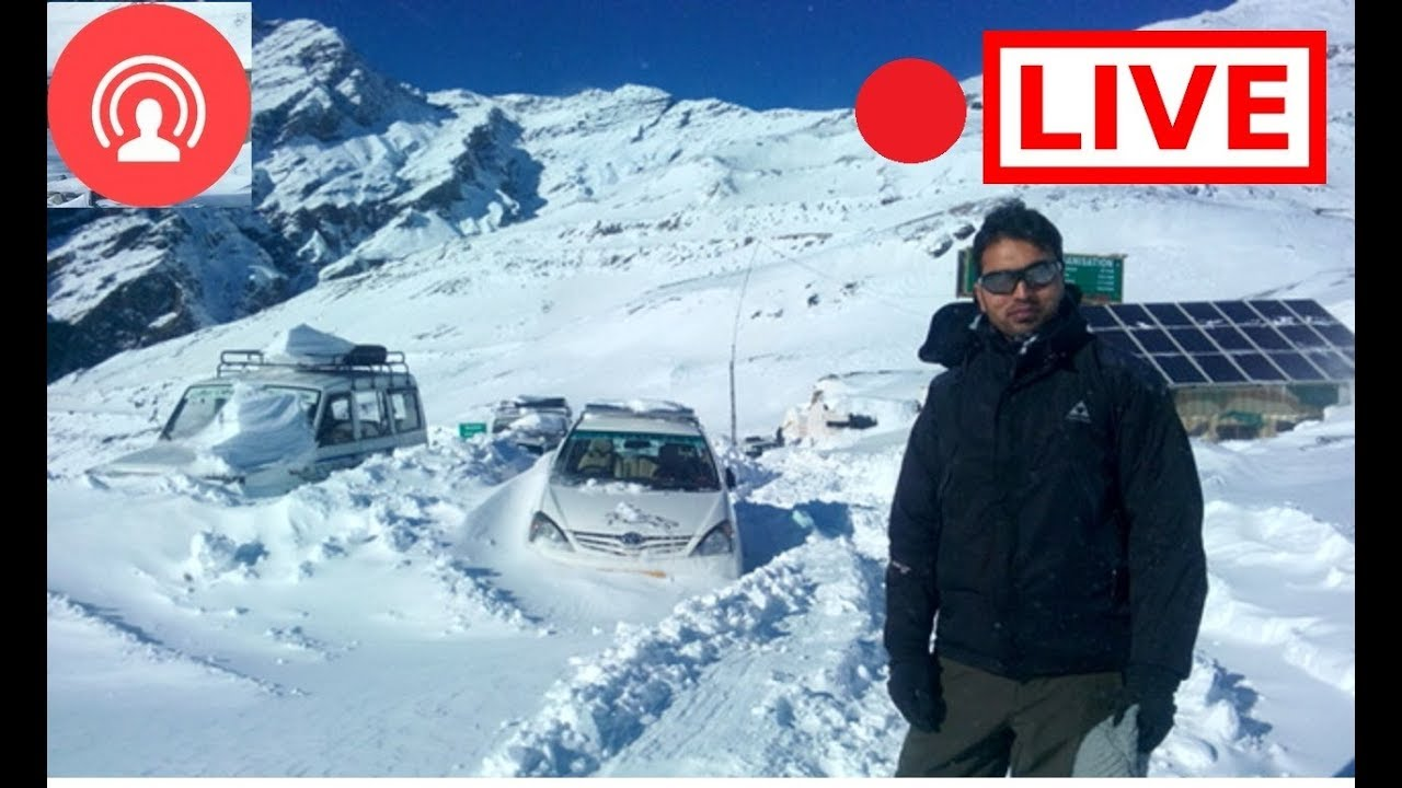 Rohtang pass on 14 May 2017 - YouTube |Rohtang Pass Weather
