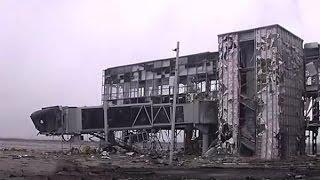 War in Ukraine. Новое видео бой за Аэропорт Донецк