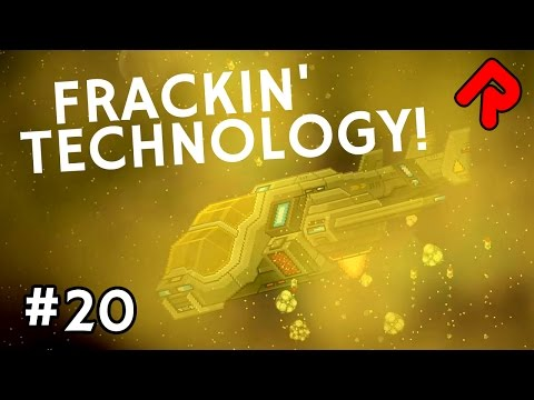 Frackin' Universe Tech! | Let's Play Starbound Frackin' Univ