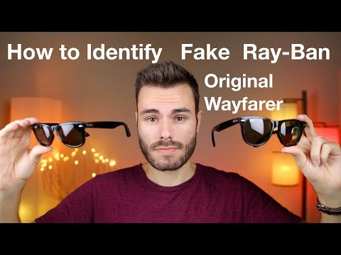 How To Identify Fake Ray-Ban Original Wayfarer Classic