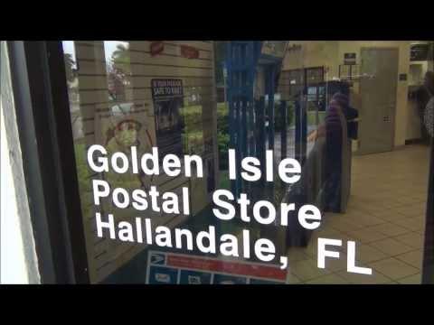 АМЕРИКАНСКАЯ Почта  Post Office Miami beach Florida  08.01.2014
