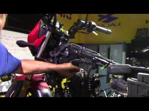 TVS 200 arme y desarme 3/4 de motor