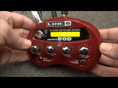 Line 6 Pocket Pod Youtube