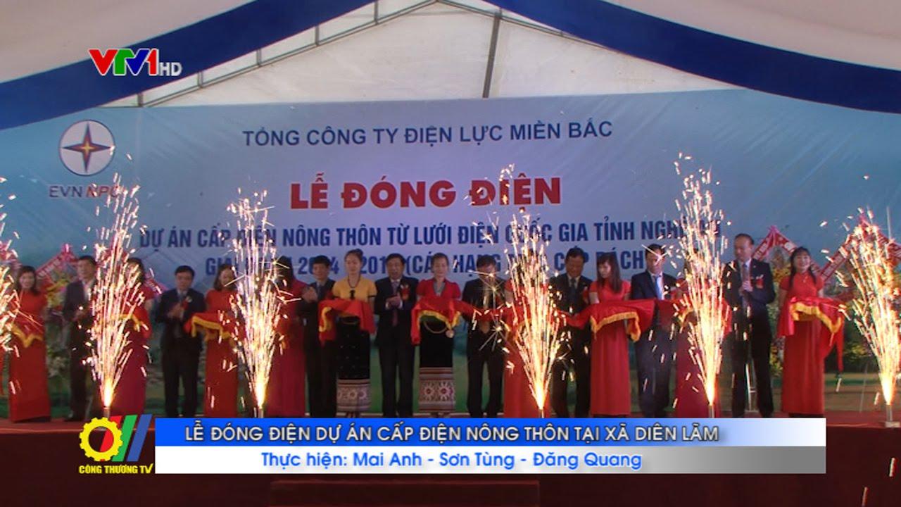 Lễ đóng điện Dự án cấp điện nông thôn tại xã Diên Lãm