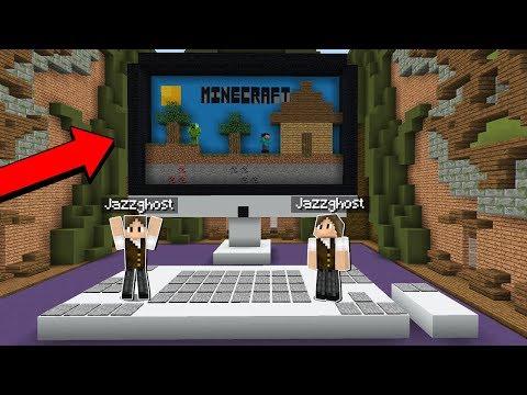 Minecraft: JAZZGHOST JOGANDO BUILDÃO EM DUPLA COM JAZZGHOST! (BUILD BATTLE)
