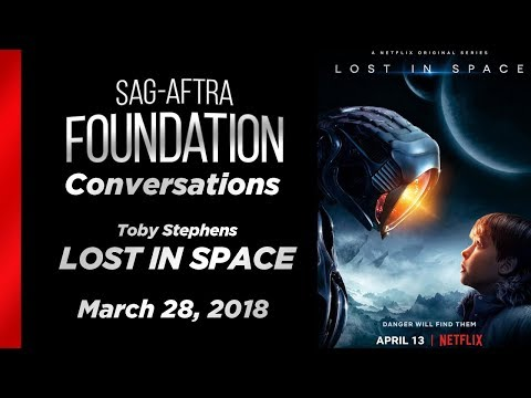 Conversations with Toby Stephens of LOST IN SPACE