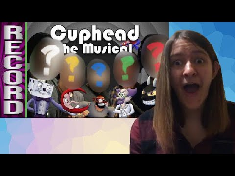 HELL YEAH!! - Cast Recording of Cuphead the Musical reaction