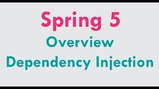 Spring 5 tutorial for beginners