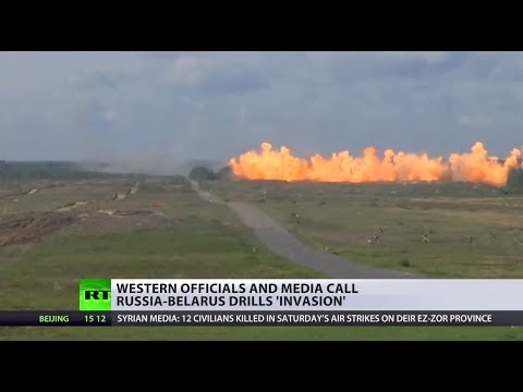 'Zapad 2017': Western officials call Russia-Belarus drills 'invasion'