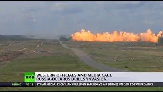 'Zapad 2017': Western officials call Russia-Belarus drills 'invasion'