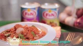Chicken Pineapple & Longan Curry | Citarasa Songkhla | Fizo Omar