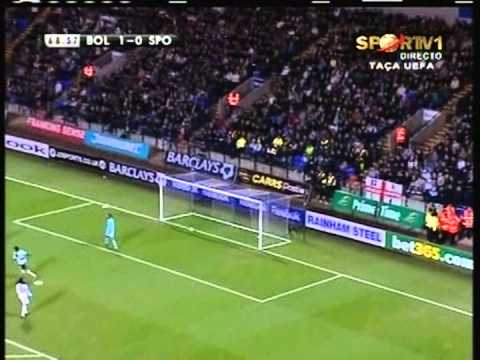 Bolton - 1 x Sporting - 1 de 2007/2008 Uefa