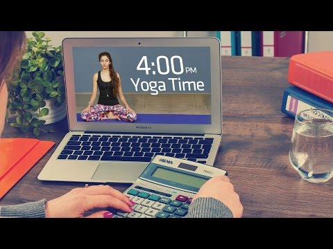 Yoga At Your Desk | How To De-stress At Work