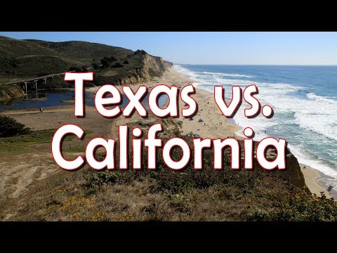 Texas vs. California: Diaspora, High-Tech, Jobs & Location