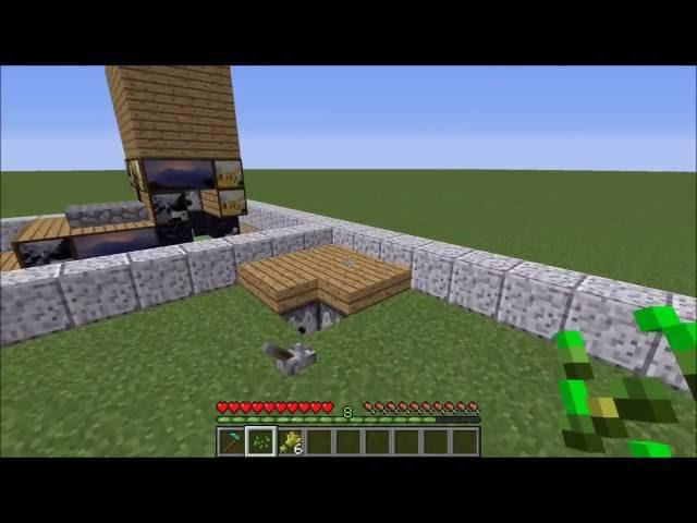 Minecraft: Automatische Weizenfarm