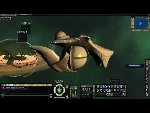 STAR TREK ONLINE - 77k Sphere Builder Denuos Dreadnought Carrier [T6] (013 minutes)