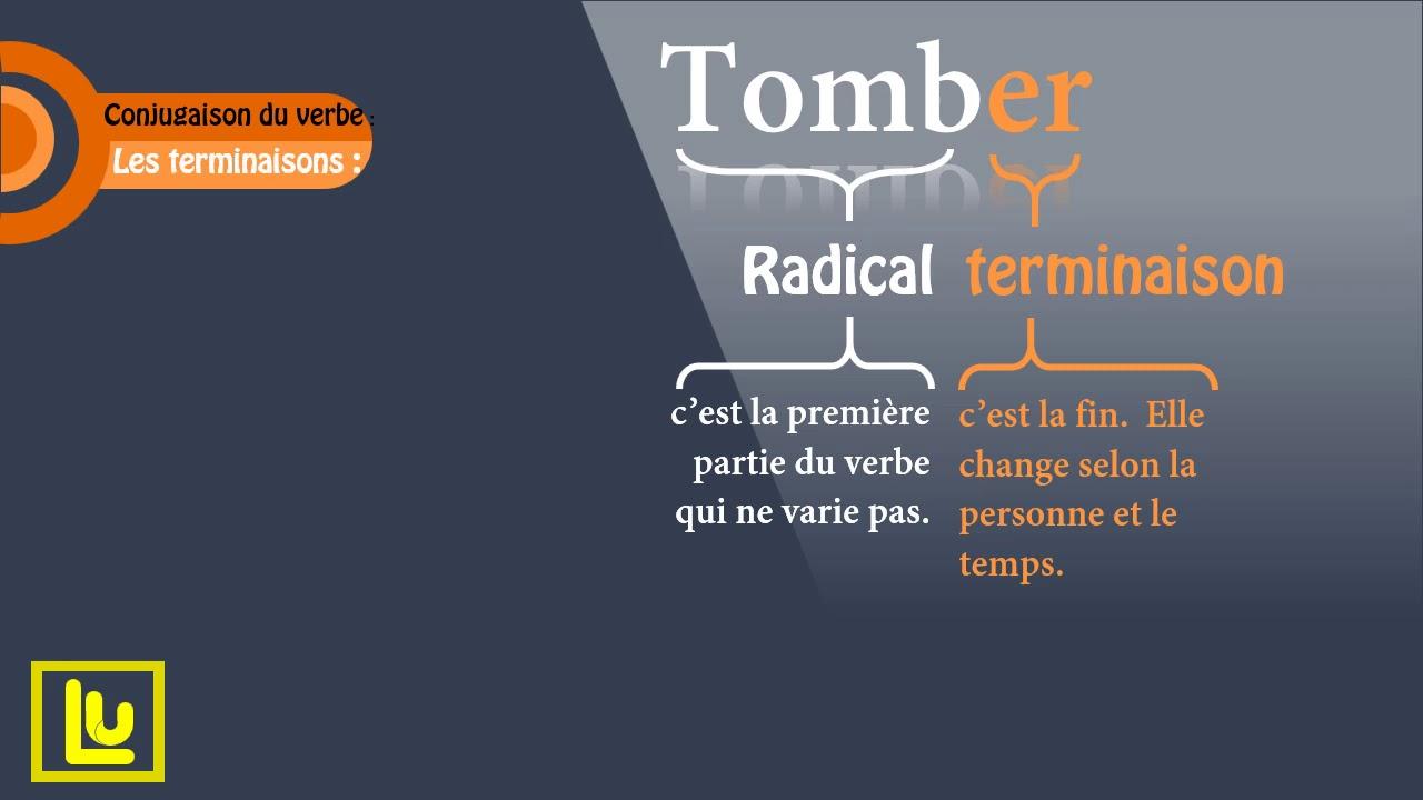 Conjugaison Du Verbe Tomber Au Present De L Indicatif Youtube