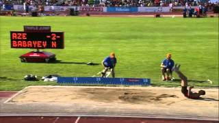 Nazim Babayev   European Athletics Junior Championships    Men's Triple Jump Final 17.04  CR