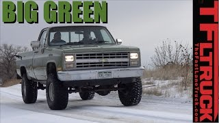We Bought a 1985 Chevy K10 and It's Big, Green & Bad Ass - Big Green Ep.1