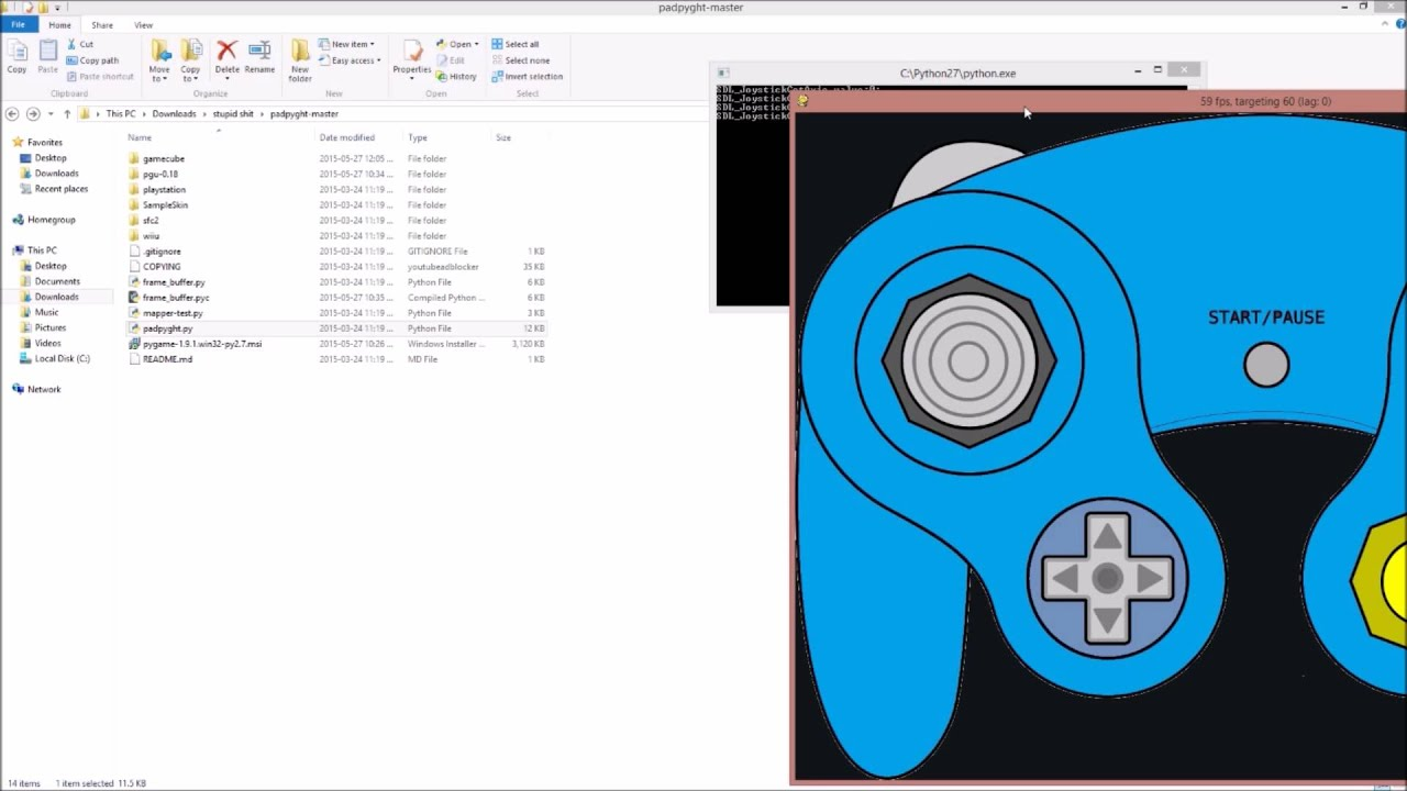 How to: Display Your Gamecube Controller