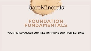 How To Find The Right Foundation | bareMinerals Foundation Fundamentals