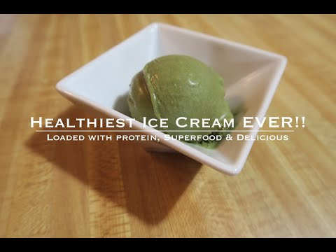 Healthy Junk Food – Chocolate Mint Matcha Ice Cream – Plant Based Home Chef Jeremiah