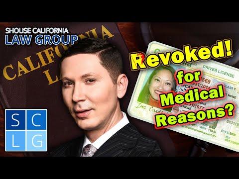 Can the DMV revoke my license for medical reasons?
