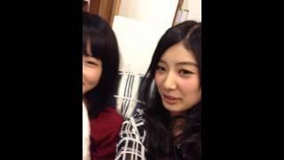 AKB48の12期生の武藤十夢と大森美優がハロウィンパーティーの計画につい...