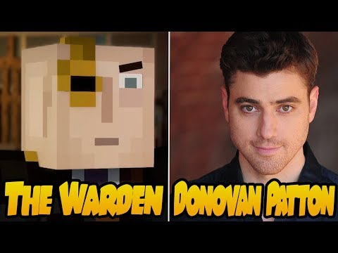 Characters and Voice Actors  Minecraft Story Mode Season 2 Episode 3: Jailhouse Block