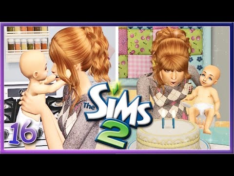 Lets Play The Sims 2! | Part 16 | Teen Mom Life👶🎂