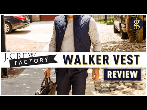 5 Reasons Why I Love My J.Crew Factory Walker Vest(s) [Review]